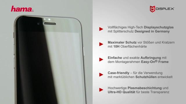 Hama - 3D-Full-Screen-Schutzglas  Video 3