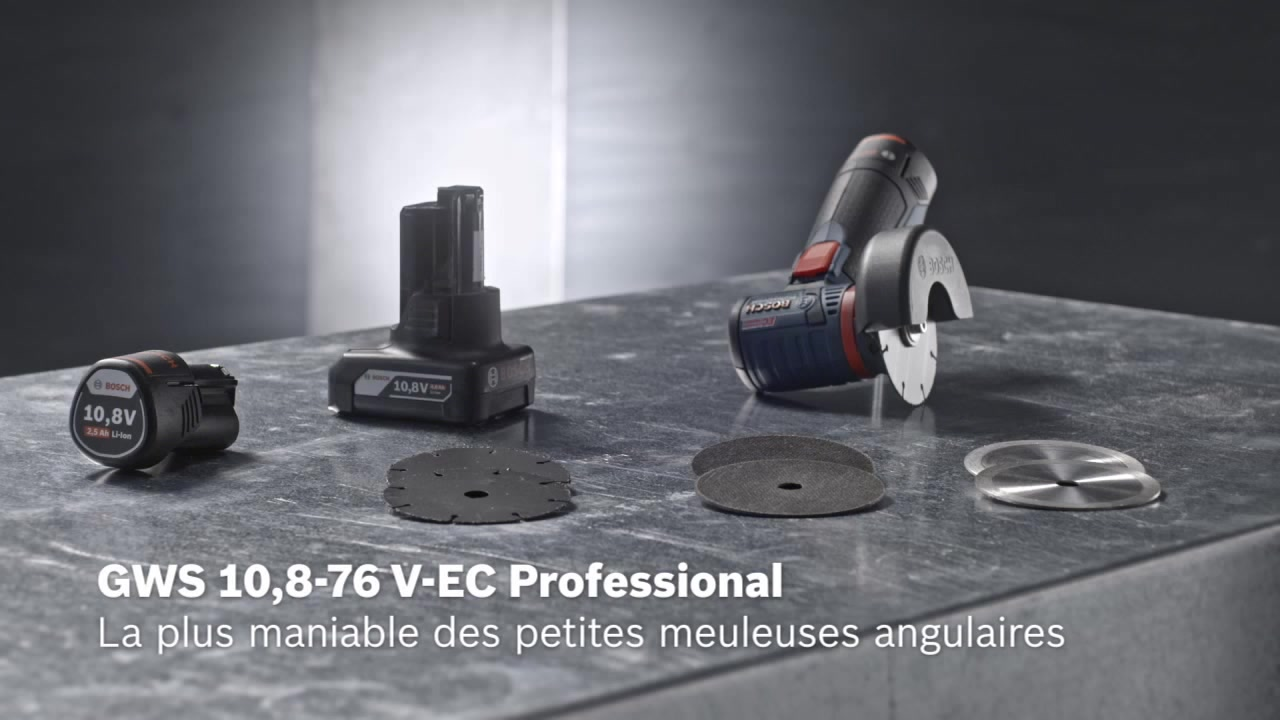 42b5be99bcfeee GWS 12V-76 Meuleuse angulaire sans fil   Bosch Professional