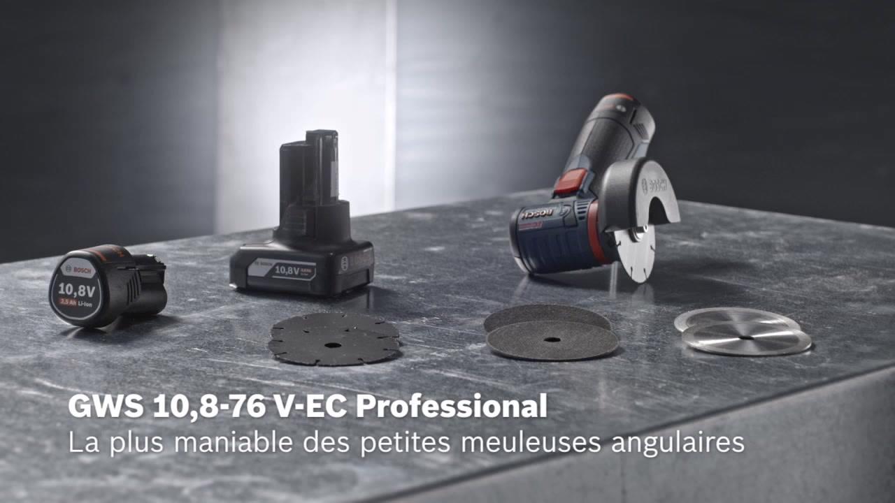 GWS 12V-76 Meuleuse angulaire sans fil   Bosch Professional e13aaef0f5e9