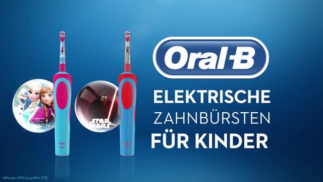 Oral-B - Elektrische Zahnbürsten für Kinder Video 3