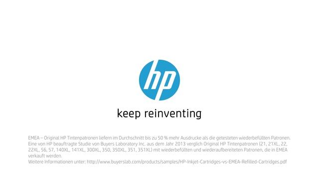 HP - Tinte neu erfinden mit Rob & Thom - Magie Video 5