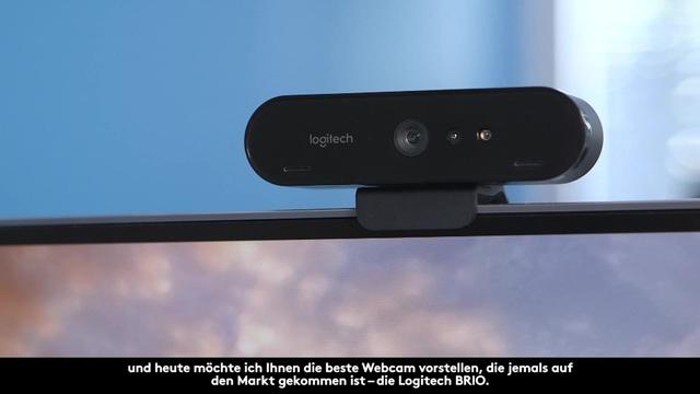 Logitech - Brio 4K Ultra HD Webcam - Features Video 7