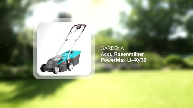 Accu Lawnmower PowerMax Li-40/32 Video 6