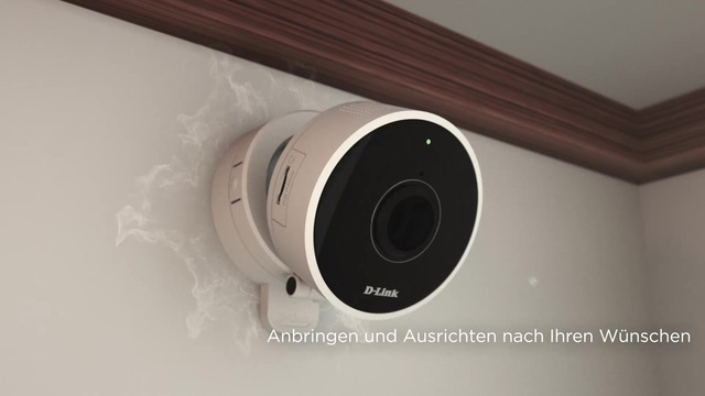 D-Link - DCS-8100LH HD 180° Wi-Fi Camera Video 3