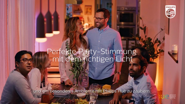 Philips - Hue - Dinner Party Video 13