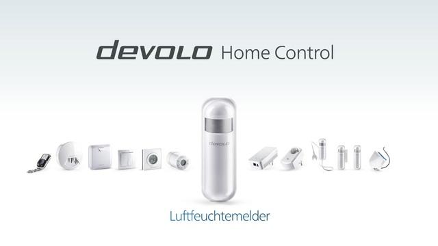 Devolo - Home Control - Luftfeuchtemelder Video 3