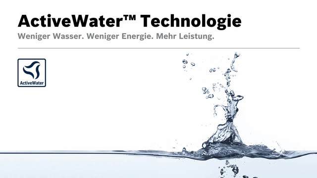 Bosch - ActiveWater Technologie Video 13