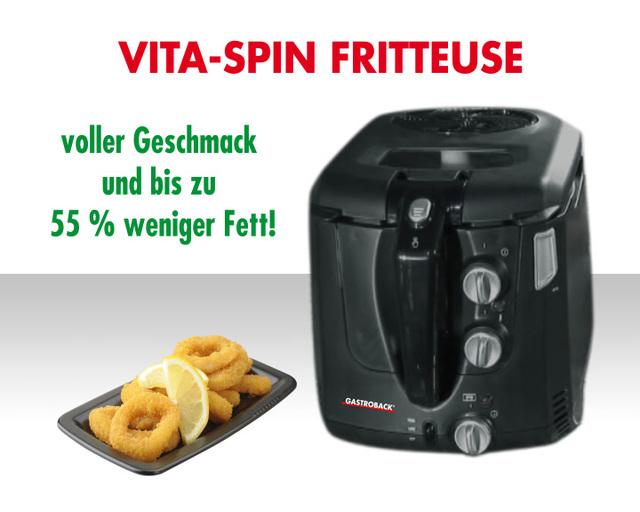Gastroback - Vita-Spin-Fritteuse 42580 Video 3