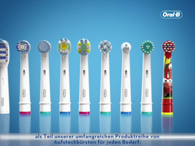 Oral-B - CrossAction Aufsteckbürste Video 3