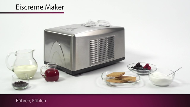 ProfiCook - Eiscreme Maker PC-ICM 1091 Video 3