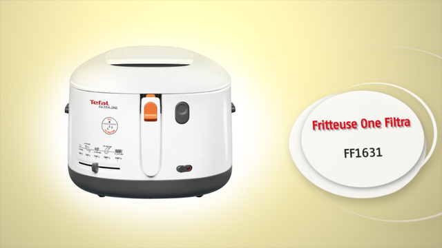 Tefal - FF1631 Fritteuse One Filtra Video 3