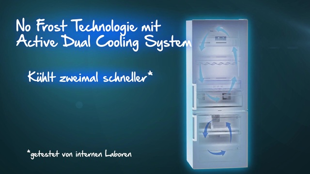 Beko - No Frost Technologie mit Active Dual Cooling Video 6