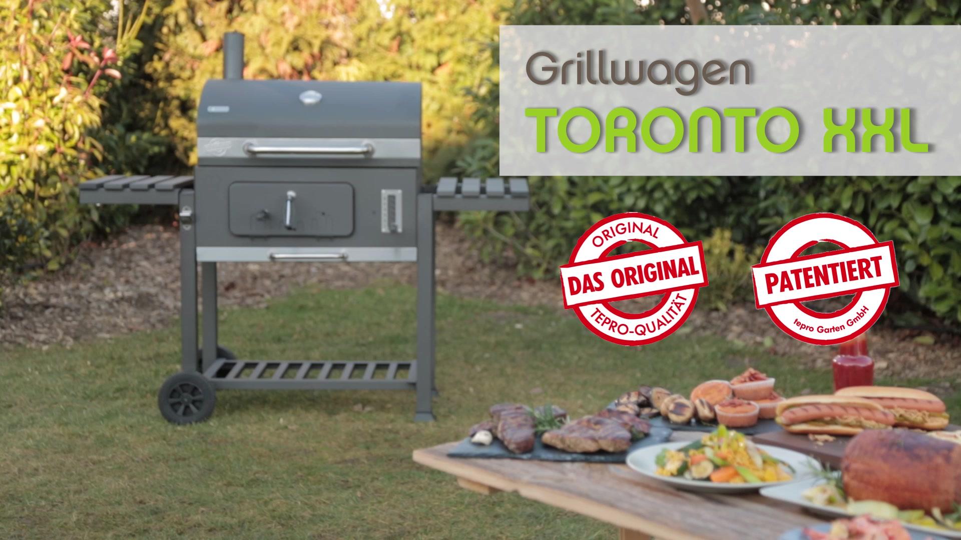 Tepro Holzkohlegrill Toronto Click Anleitung : Tepro grillwagen toronto xxl bei hornbach kaufen