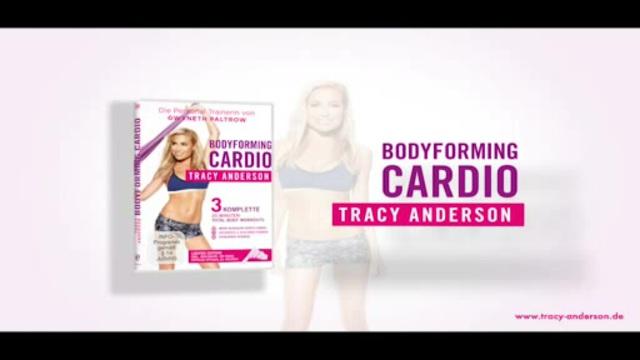 Tracy Anderson - Bodyforming Cardio Video 3