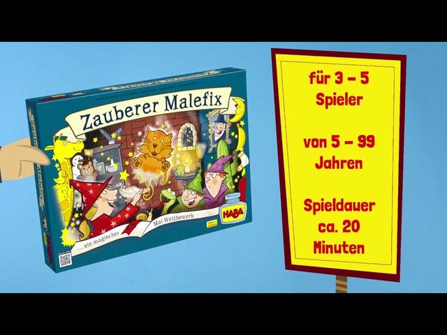 HABA Zauberer Malefix (deutsch) Anleitungsvideo