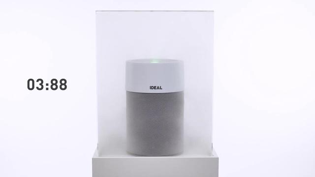 Ideal - AP40 Luftreiniger - Rauchbox Video 8
