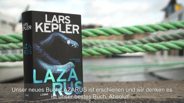 Lars Kepler: Lazarus Video 2
