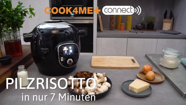Krups - Cook4Me+ Connect - Pilzrisotto Video 3