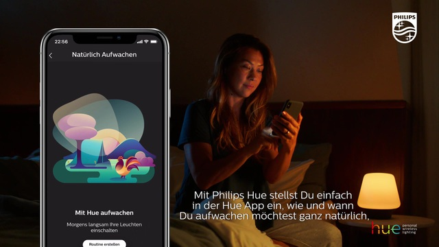 Philips - Hue - Wake Up Video 9