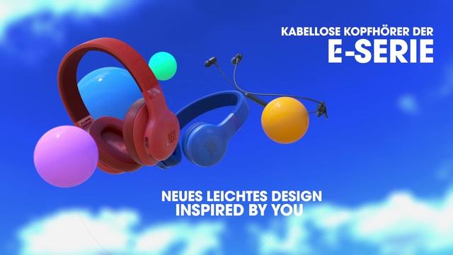 JBL by Harman - E-Series Kopfhörer Wireless Video 2