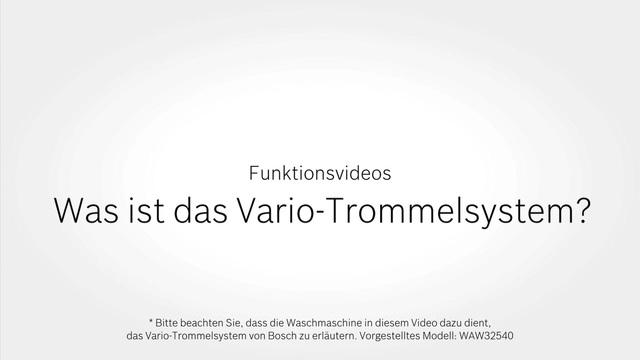 Bosch - Was ist das Vario-Trommelsytem? Video 7