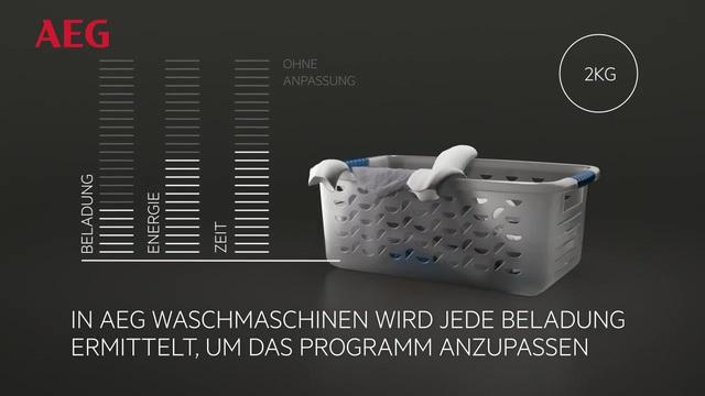 AEG - ProSense Technologie - Spart Wasser, Energie & Zeit Video 20