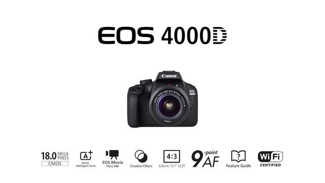 Canon - EOS 4000D Video 17