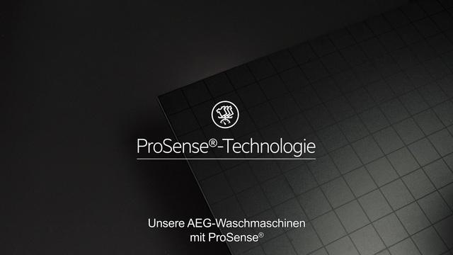 AEG - ProSense Technologie - Doppelt effektive Pflege Video 21