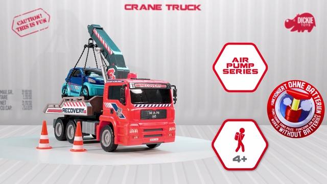 Air Pump Crane Truck Video 2