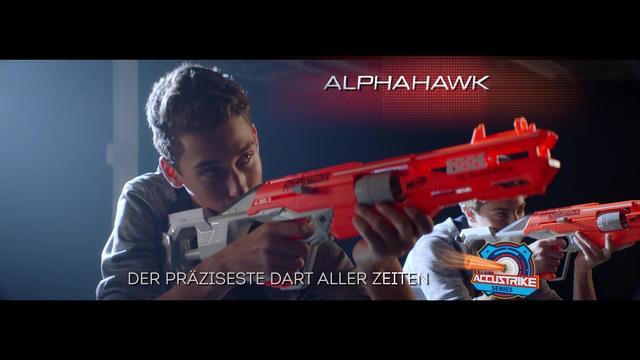 Hasbro - NERF Elite Accustrike Alphahawk / NERF Elite Accustrike Falconfire Video 10