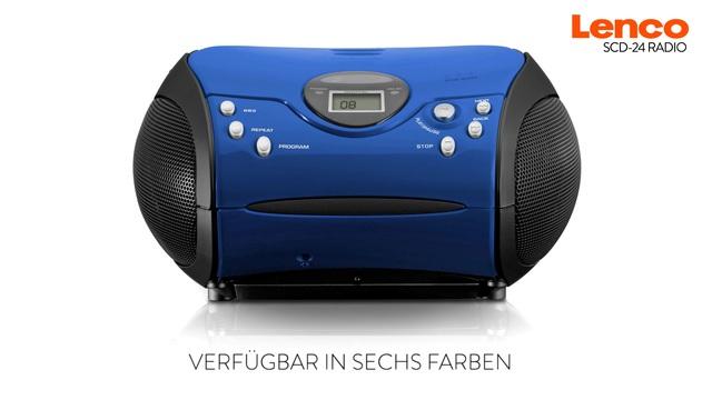 Lenco SCD-24 Radio  Video 2
