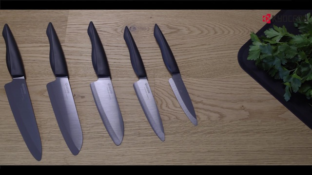 Kyocera - Keramikmesser Serie Shin Video 2