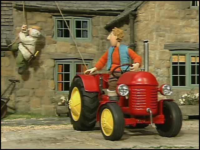 Kleiner roter Traktor Video 3