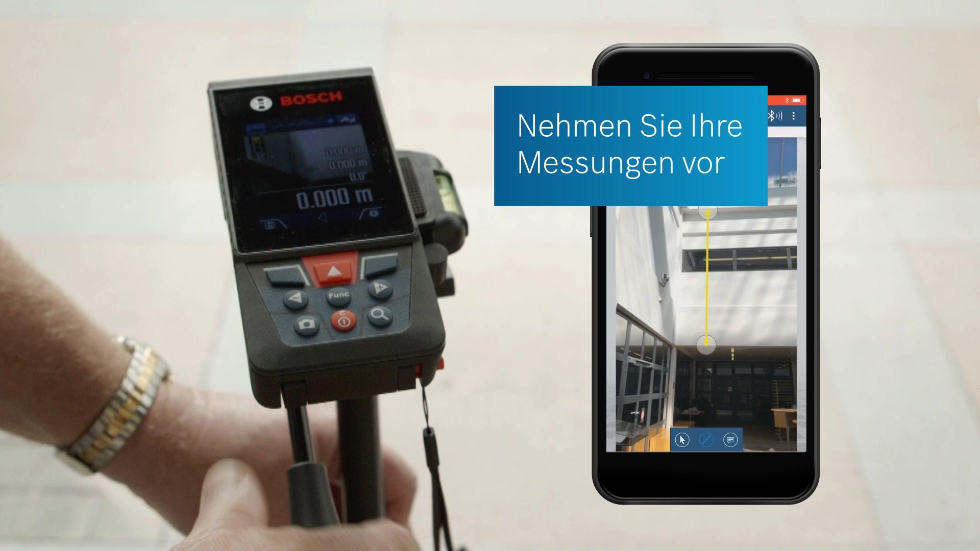 Bosch professional glm c laser entfernungsmesser