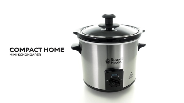 Russell Hobbs - Compact Home Mini-Schongarer Video 3