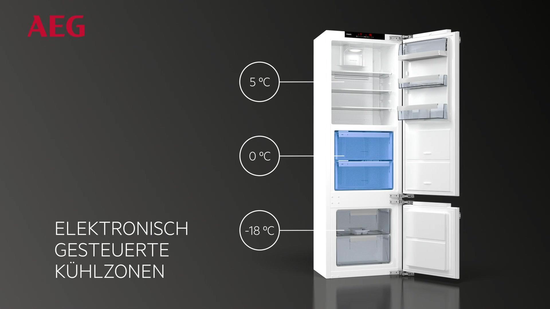 Miniküche Mit Kühlschrank Hagebaumarkt : Aeg aeg integrierbarer einbau kühlschrank santo ske zc a
