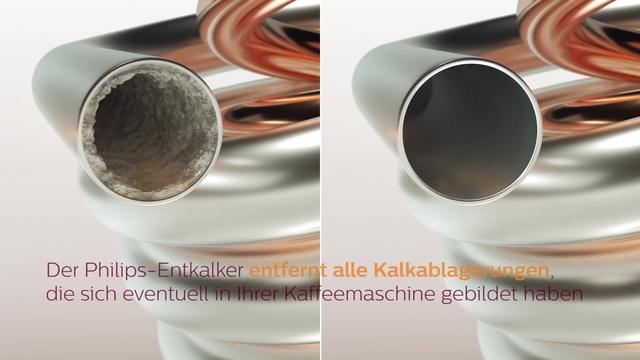 Philips Universal Flüssig-Entkalker für Kaffeevollautomaten  Video 3