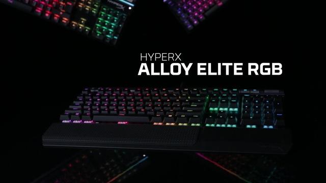 Kingston - HyperX Alloy Elite RGB Gaming Tastatur Video 3