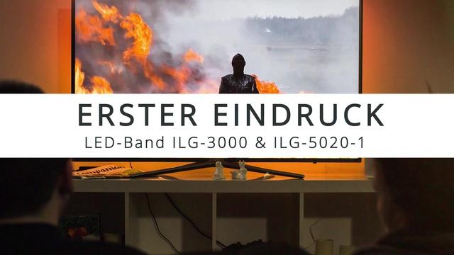ISY - ILG-3000 LED Strip RGB - Erster Eindruck Video 3