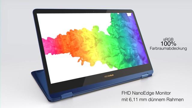 ASUS - ZenBook Flip S Convertible Video 3