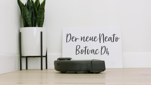Neato - Botvac D4 Connected Saugroboter Video 3