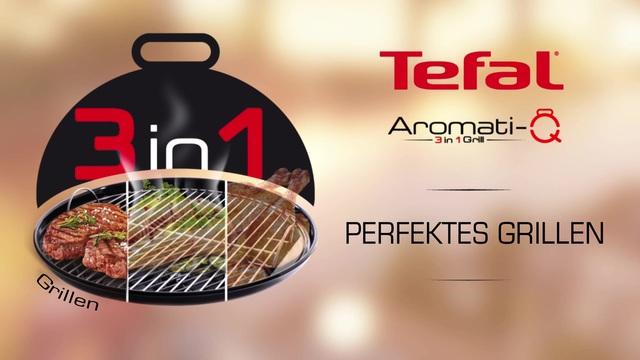 Tefal - Aromati-Q 3in1 Tischgrill (Grillen) Video 14