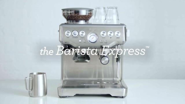 Sage - The Barista Express Video 3