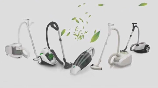 Philips MiniVac Handstaubsauger FC6148/01 10,8-V-Akku (Lithium), zyklonisch ohne Beutel, Fugen- und Bürstenzubehör, Eco Video 11