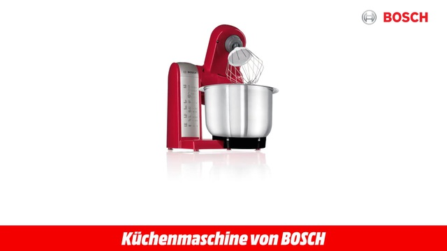 MUM 48 R 1 ROT KÜCHENMASCHINE Video 3