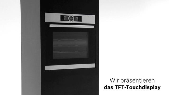 Bosch - TFT-Touchdisplay der Bosch Serie 8 Video 6