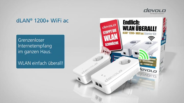 Devolo - dLAN 1200+ WiFi ac Video 3