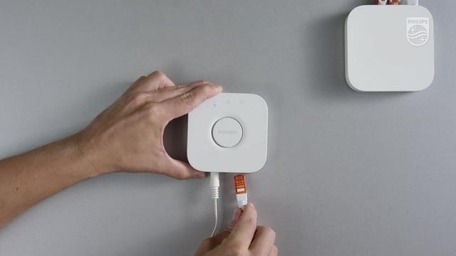 Philips - Hue - Verbindung zur Hue Außenbeleuchtung herstellen Video 6