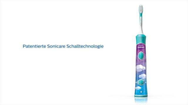Philips Sonicare For Kids Elektrische Schallzahnbürste HX6324/10 Video 3