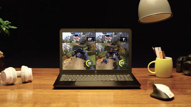 HP - Pavilion Power Notebook Video 3
